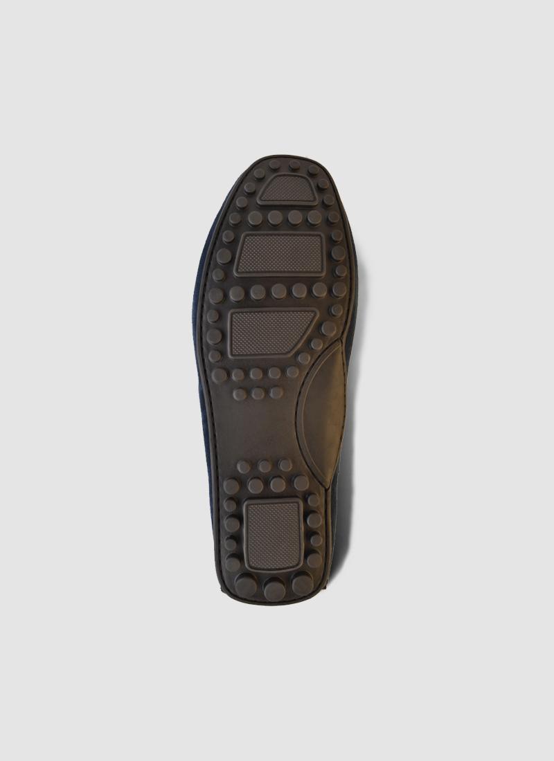 Language Shoes-Men-Kaoli Driver-Premium Leather-Navy Colour-Casual Shoe