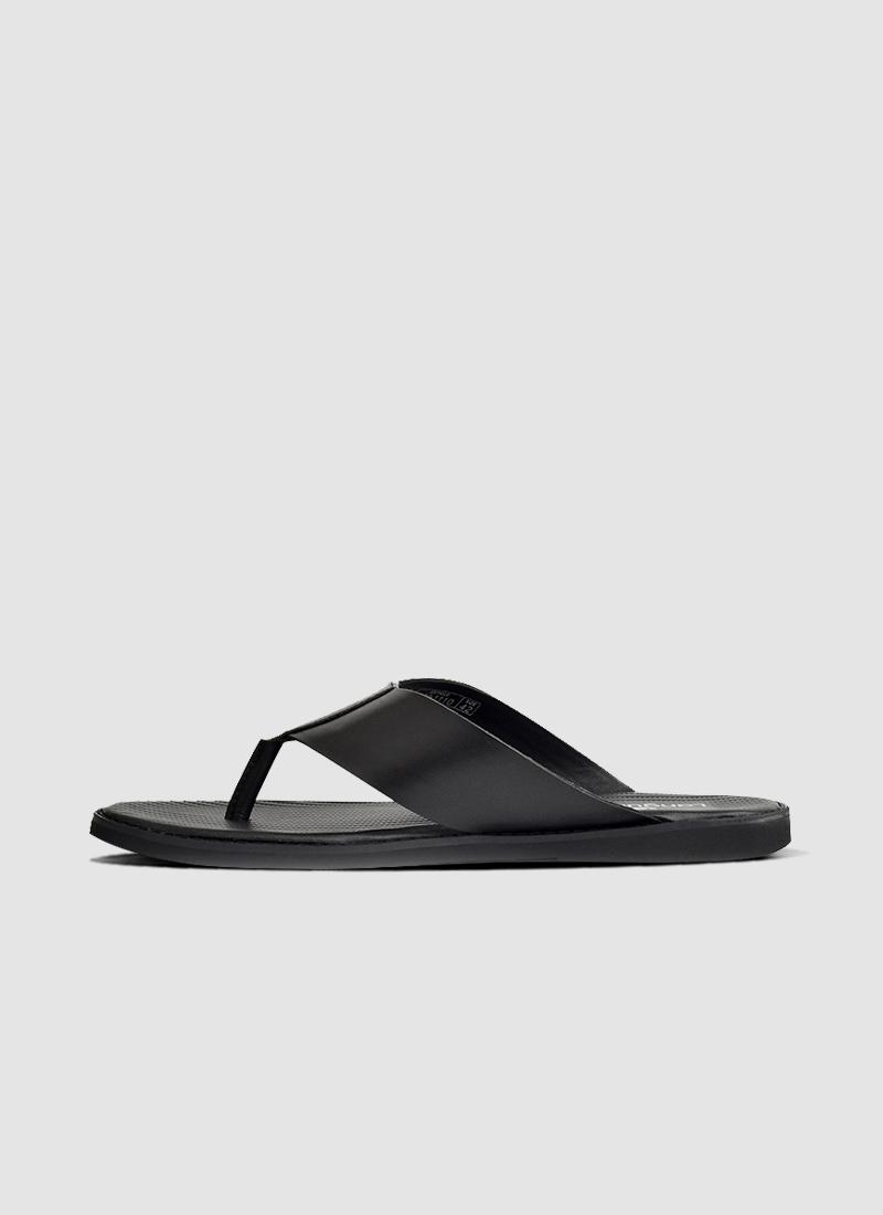 Language Shoes-Men-Alex Sandal-Premium Leather-Black Colour-Sandal