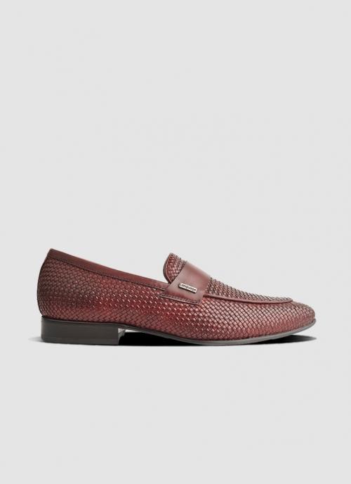 Language Shoes-Men-Muneh Loafer-Premium Leather-Wine Colour-Formal Shoe