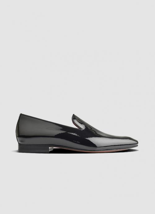 Language Shoes-Men-Kayle Loafer-Premium Leather-Black Colour-Formal Shoe