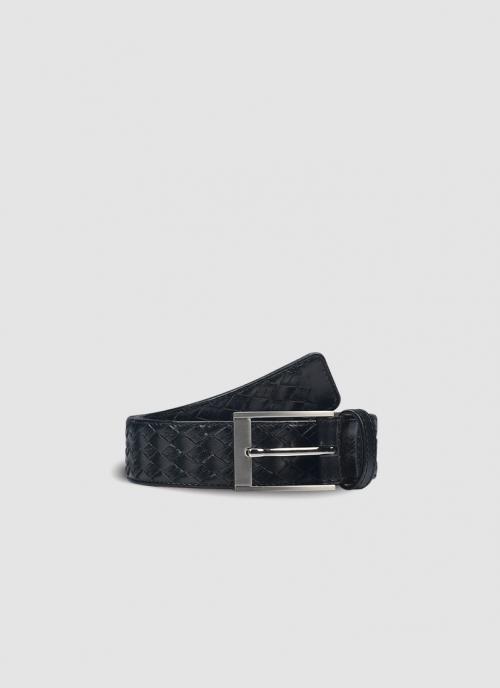 Language Shoes-Men-Jaimy Belt-Premium Leather-Black Colour-Belt