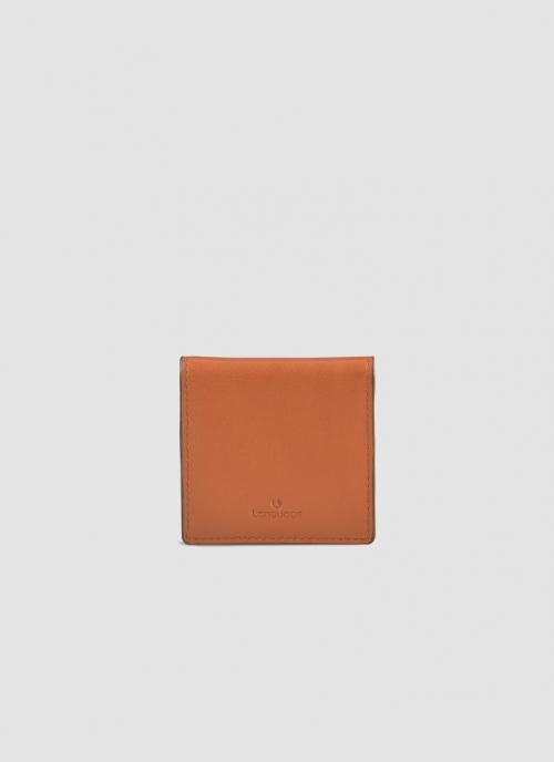 Language Shoes-Men-Denver Coin Pouch-Premium Leather-Tan Colour-Leather Accessories