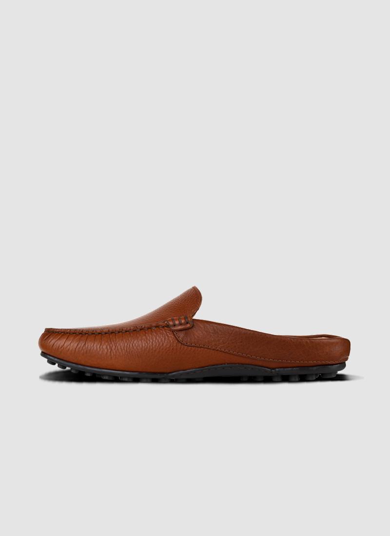 Language Shoes-Men-Lemas Driver-Premium Leather-Tan Colour-Casual Shoe