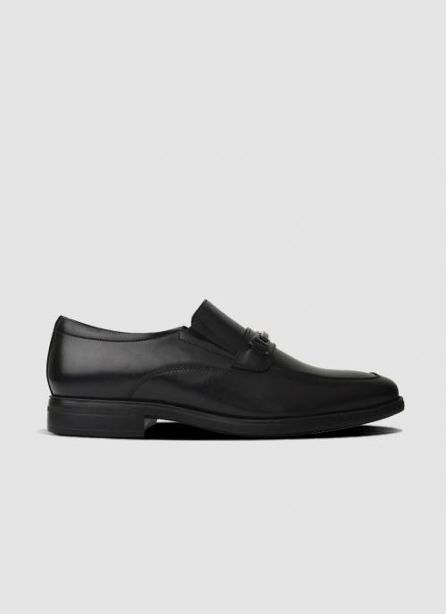 Language Shoes-Men-Logan Loafer-Premium Leather-Black Colour-Formal Shoe