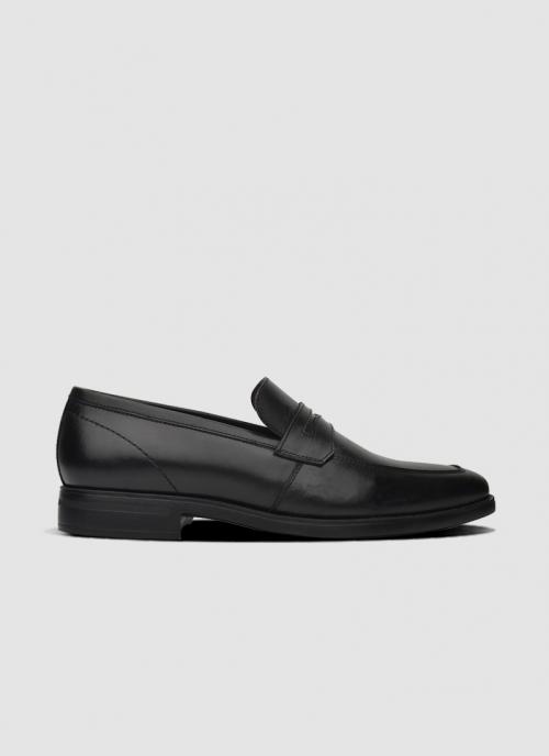 Language Shoes-Men-Lebaron Loafer-Premium Leather-Black Colour-Formal Shoe