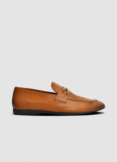 Language Shoes-Men-Theo Loafer-Premium Leather-Tan Colour-Formal Shoe