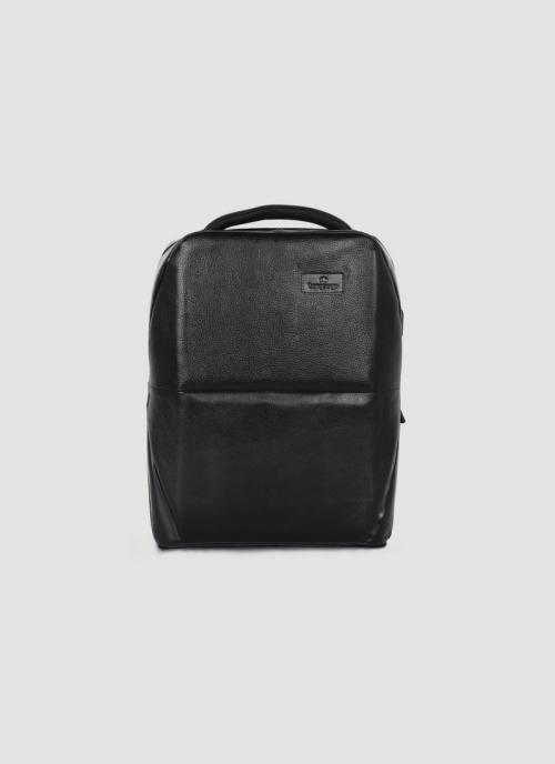 Language Shoes-Men-Ronald Backpack-Premium Leather-Black Colour-Leather Accessories