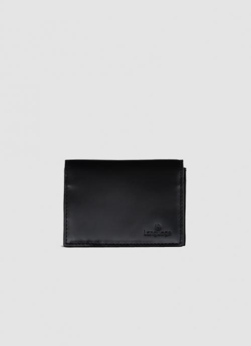 Language Shoes-Men-Otis Card Holder-Premium Leather-Black Colour-Leather Accessories