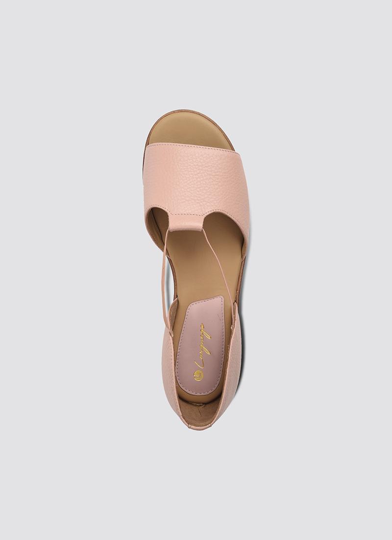 Language Shoes-Women-Hestia Sandal-Premium Leather-Pink Colour-Sandal