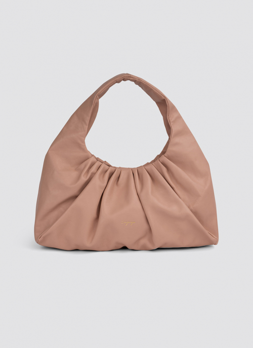 Language Shoes-Women-Biscotti Hand Bag-Premium Leather-Pink Colour-Leather Accessories