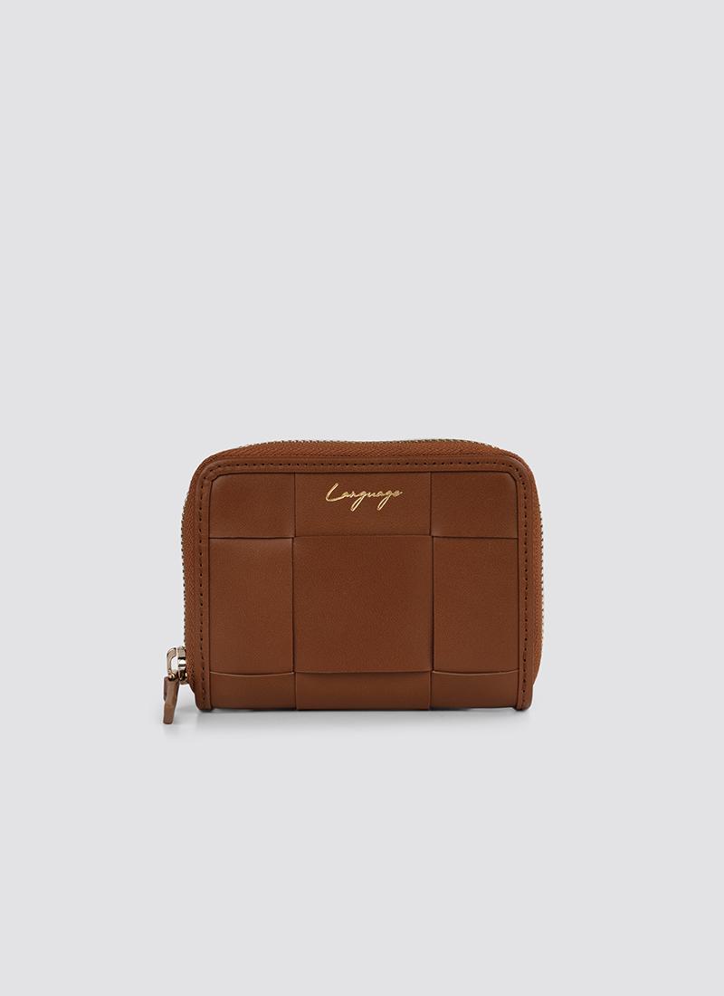 Language Shoes-Women-Rosa Wallet-Premium Leather-Tan Colour-Leather Accessories