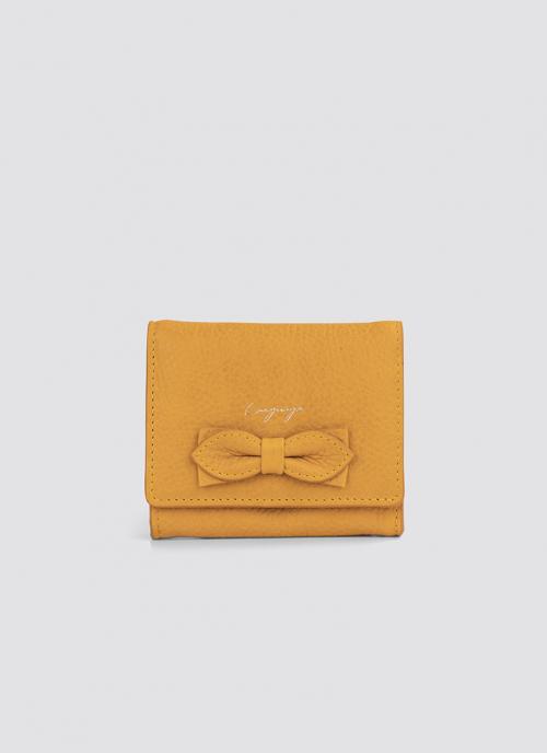 Language Shoes-Women-Siena Wallet-Premium Leather-Senape Colour-Leather Accessories