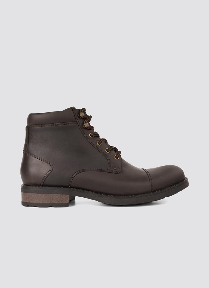Language Shoes-Men-Dunstan Boot-Premium Leather-Brown Colour-Boot