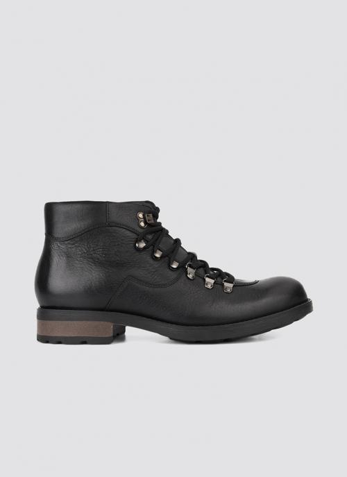 Language Shoes-Men-Morris Boot-Premium Leather-Black Colour-Boot