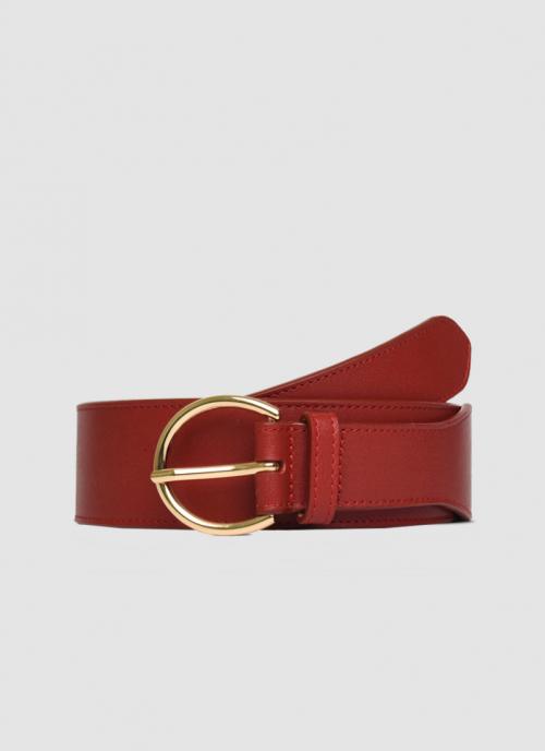 Language Shoes-Women-Lilliana Belt-Premium Leather-Red Colour-Belt