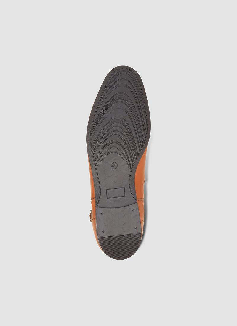 Language Shoes-Men-Blake Boot-Premium Leather-Tan Colour-Boot