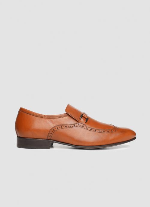 Language Shoes-Men-Osin Loafer-Premium Leather-Tan Colour-Formal Shoe