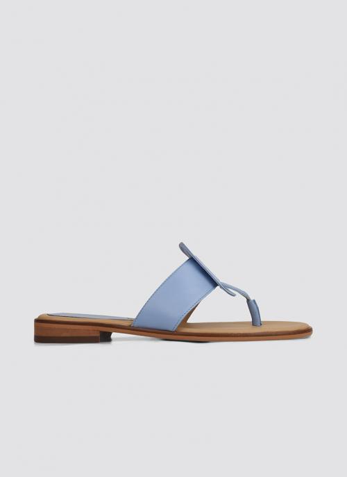 Language Shoes-Women-Styx Sandal-Premium Leather-Blue Colour-Sandal