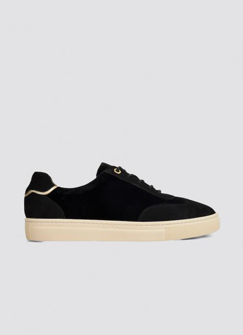 Language Shoes-Women-Brizo Sneaker-Premium Leather-Black Colour-Sneaker