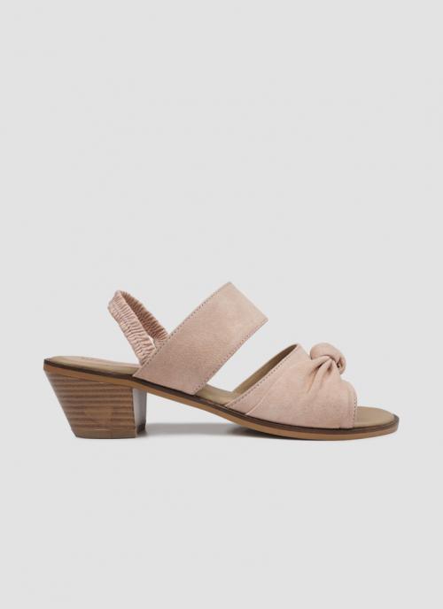 Language Shoes-Women-Ceto Sandal-Premium Leather-Pink Colour-Sandal
